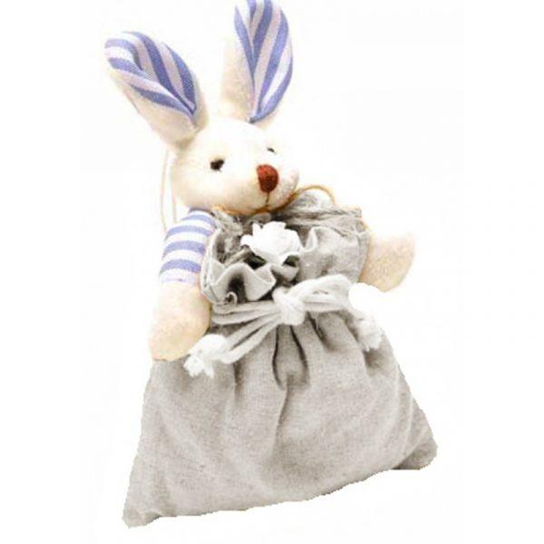 Bolsa de olor con lavanda gris