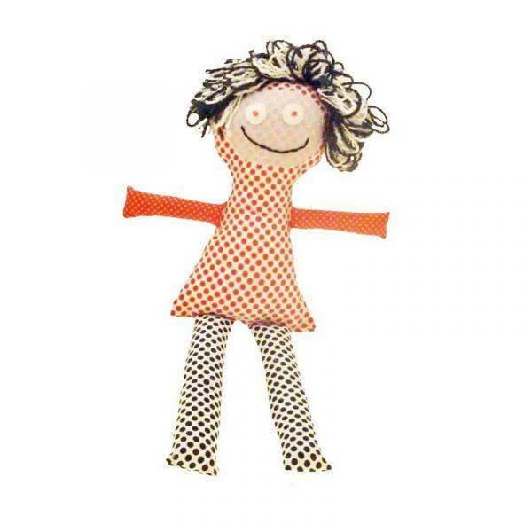 Muñeca moderna roja