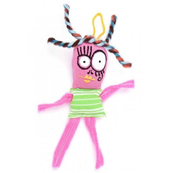 Muñeco mini rosa