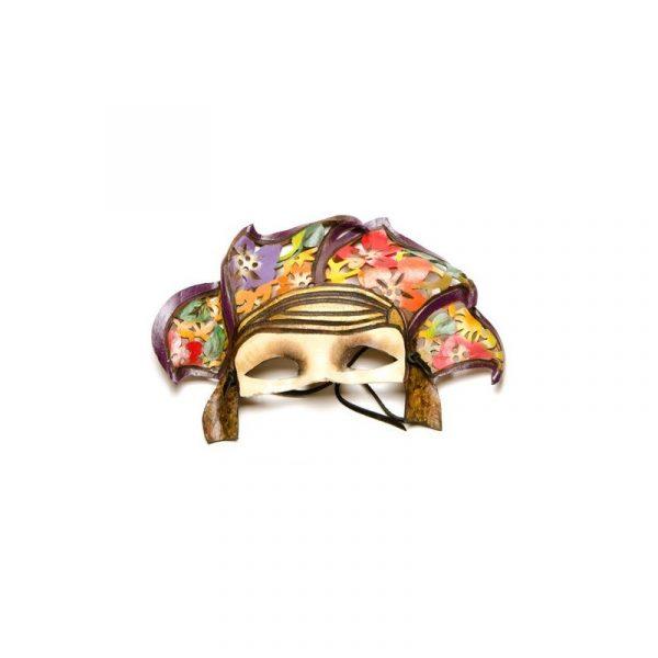 Máscara de carnaval pétalos