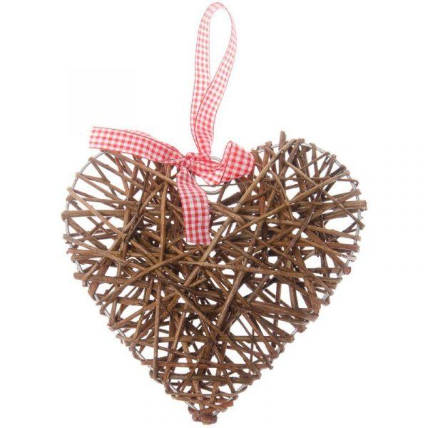 Corazón de mimbre