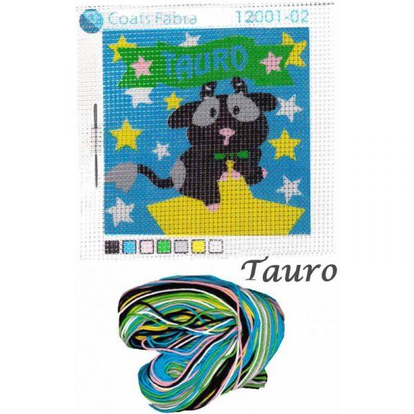 Kit de punto de cruz Tauro