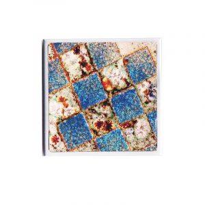 Espejo para bolso, mosaico