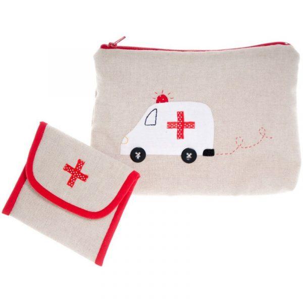 Bolsa de viaje para medicinas