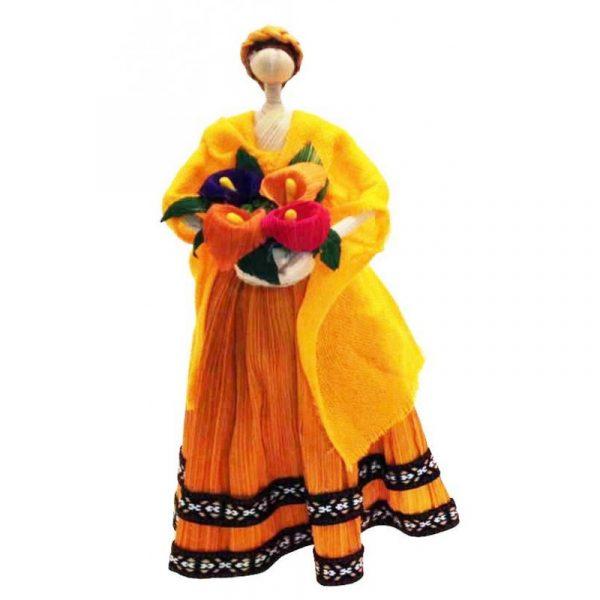 Muñeca de maíz Naranja