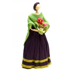 Muñeca de maíz Morada