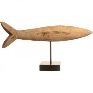 Escultura pez perca