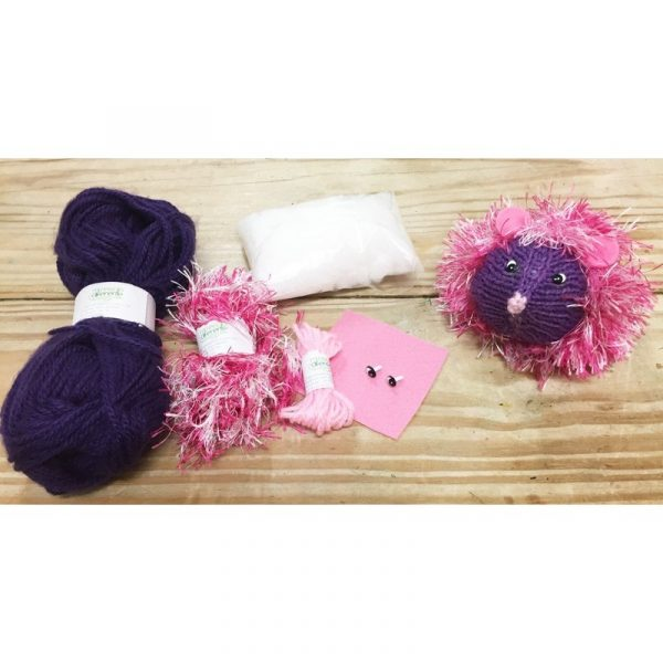 DIY Kit Amigurumi Erizo Zippi